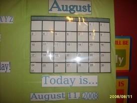 Bulletin Board Photo Home School Learning Center