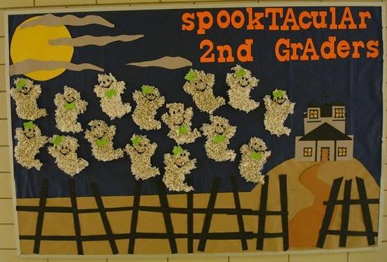 Halloween Bulletin Board Display